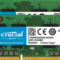 Ram Laptop Crucial DDR3 4Gb bus 1333MHz PC3-10600 giá rẻ nhất