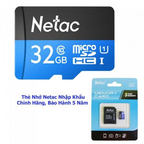 THẺ NHỚ NETAC U1 DUNG LƯỢNG 32G