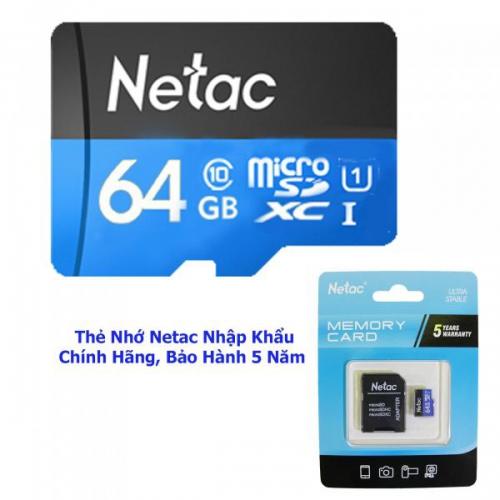 Thẻ Nhớ Netac U1 dung lượng 64G